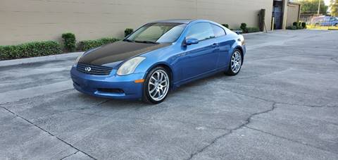 2005 Infiniti G35 for sale at Turbo Toys in Tampa FL