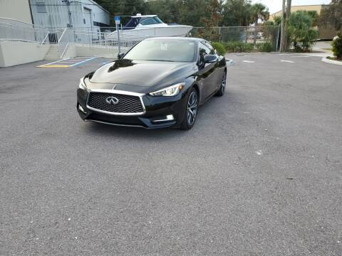 2017 Infiniti Q60 for sale at Turbo Toys in Tampa FL