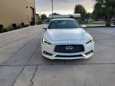 2018 Infiniti Q60 for sale at Turbo Toys in Tampa FL
