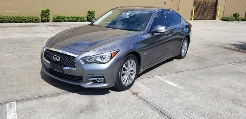 2014 Infiniti Q50 Hybrid for sale at Turbo Toys in Tampa FL