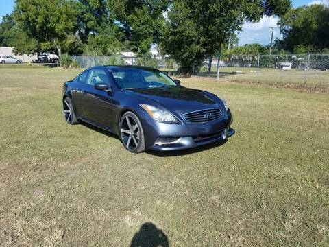 2013 Infiniti G37 Coupe for sale in Tampa, FL
