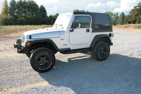 2002 Jeep Wrangler for sale in Byhalia, MS