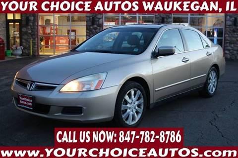 2006 Honda Accord For Sale >> 2006 Honda Accord For Sale In Waukegan Il