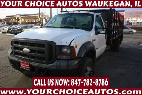 2005 Ford F-450 Super Duty for sale in Waukegan, IL