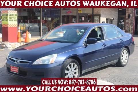 2007 Honda Accord for sale in Waukegan, IL