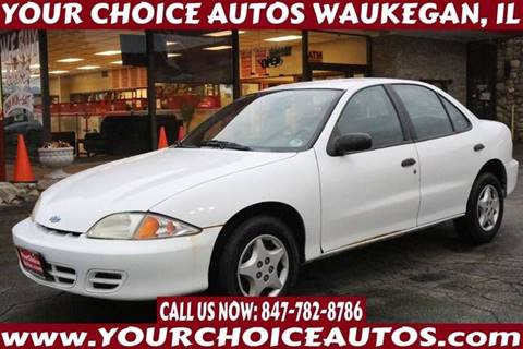 2001 Chevrolet Cavalier for sale in Waukegan, IL
