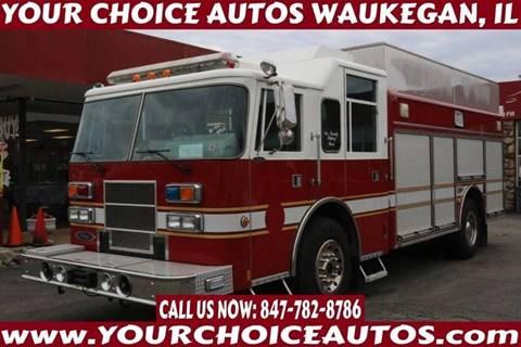 1996 Pierce Fire Truck for sale in Waukegan, IL