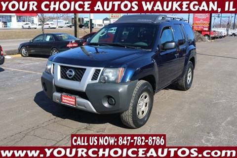 2009 Nissan Xterra Off-Road for sale at Your Choice Autos - Waukegan in Waukegan IL