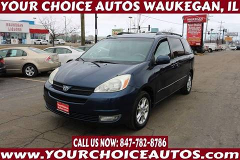 2004 Toyota Sienna XLE 7 Passenger for sale at Your Choice Autos - Waukegan in Waukegan IL