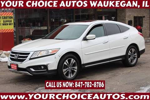 2013 Honda Crosstour EX-L V6 for sale at Your Choice Autos - Waukegan in Waukegan IL