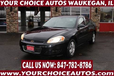 2006 Chevrolet Impala LT for sale at Your Choice Autos - Waukegan in Waukegan IL
