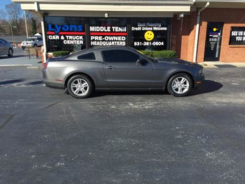 2012 Ford Mustang for sale in Columbia, TN