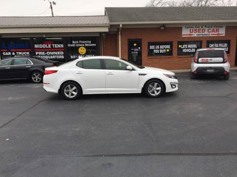 2014 Kia Optima for sale in Columbia TN