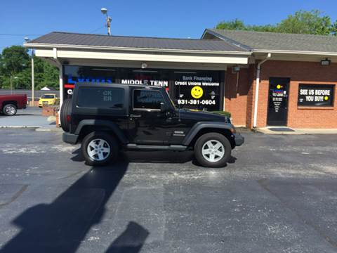 2015 Jeep Wrangler for sale in Columbia TN