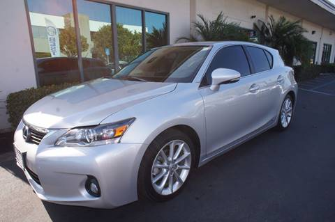 2011 Lexus CT 200h for sale in San Diego, CA
