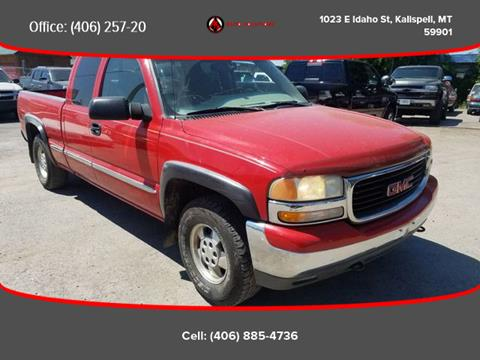 1999 GMC Sierra 1500 for sale in Kalispell, MT