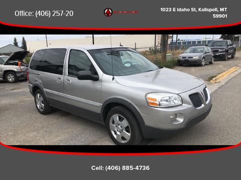 2008 Pontiac Montana for sale in Kalispell, MT