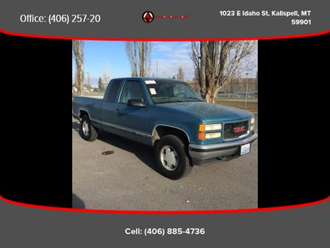 1997 GMC Sierra 1500 for sale in Kalispell, MT