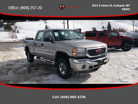 2006 GMC Sierra 2500HD for sale in Kalispell, MT