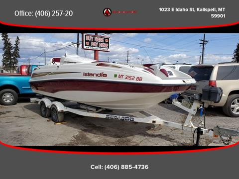 2004 Sea-Doo Islandia for sale in Kalispell, MT