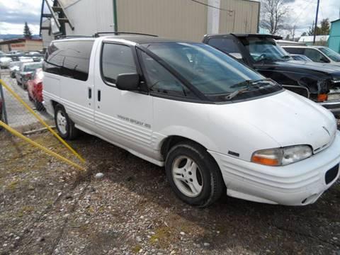 1995 Pontiac Trans Sport for sale in Kalispell, MT