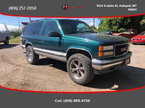 1995 GMC Yukon for sale in Kalispell, MT