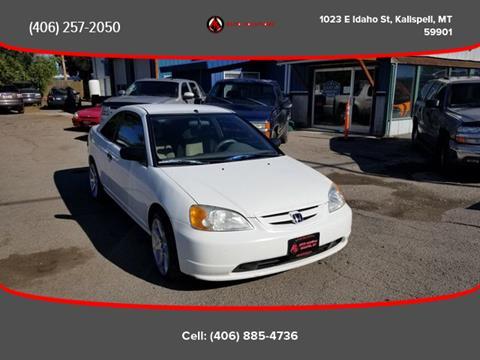 2001 Honda Civic for sale in Kalispell, MT