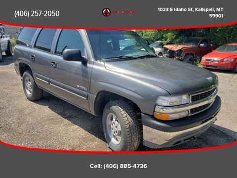 2001 Chevrolet Tahoe for sale in Kalispell, MT