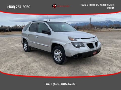 Used Cars Kalispell >> 2005 Pontiac Aztek For Sale In Kalispell Mt