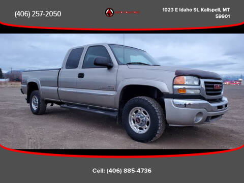 2003 GMC Sierra 2500HD for sale in Kalispell, MT
