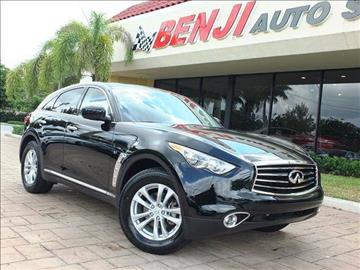 2016 Infiniti QX70 for sale in West Park, FL