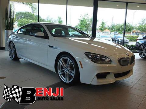 2015 BMW 6 Series For Sale  Carsforsalecom