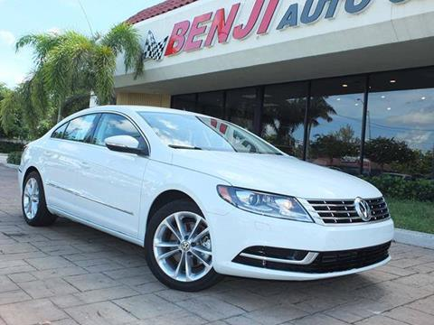 2016 Volkswagen CC for sale in West Park, FL