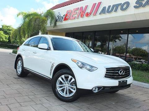 2014 Infiniti QX70 for sale in West Park, FL
