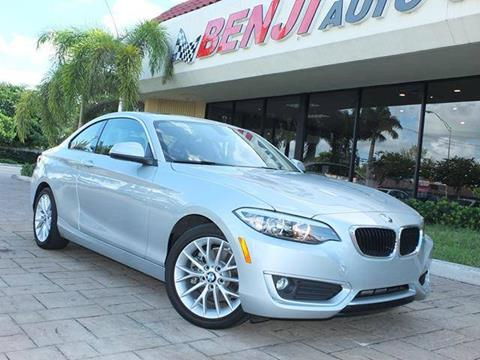 2015 BMW 2 Series for sale in West Park, FL
