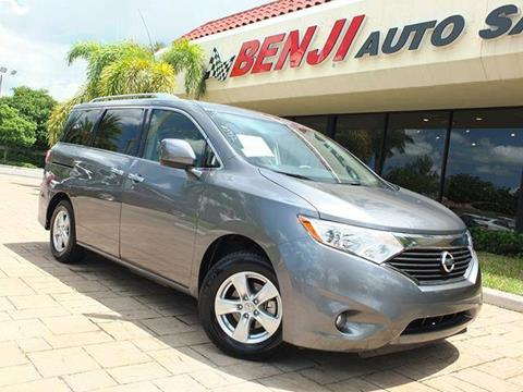2016 Nissan Quest for sale in West Park, FL