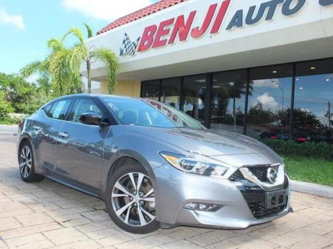 2016 Nissan Maxima for sale in West Park, FL