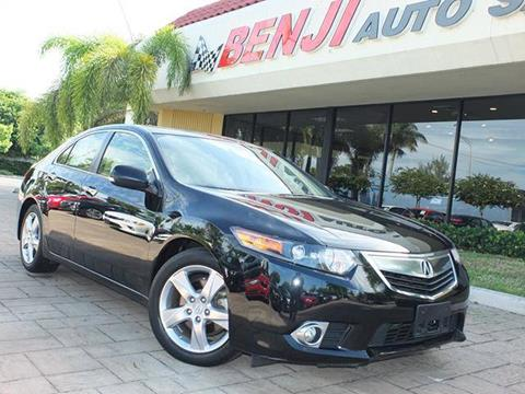 2014 Acura TSX for sale in West Park, FL