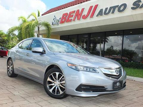 2016 Acura TLX for sale in West Park, FL
