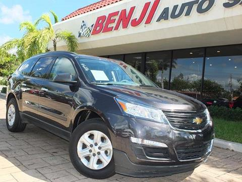2016 Chevrolet Traverse for sale in West Park, FL