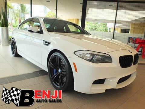 2013 BMW M5 for sale in West Park, FL