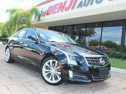 2014 Cadillac ATS for sale in West Park, FL