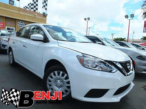 2016 Nissan Sentra for sale in West Park, FL