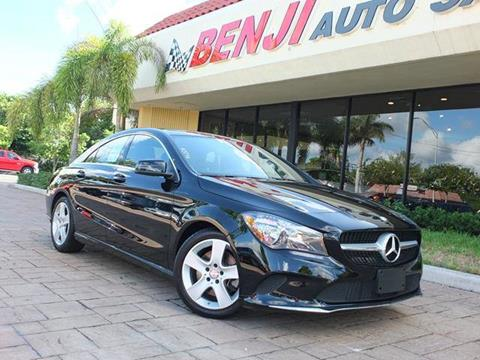 2017 Mercedes-Benz CLA for sale in West Park, FL
