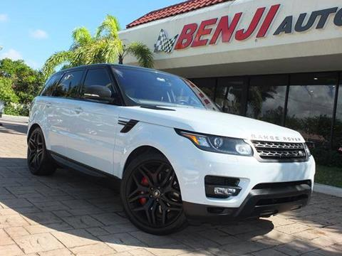 2016 Land Rover Range Rover Sport for sale in West Park, FL