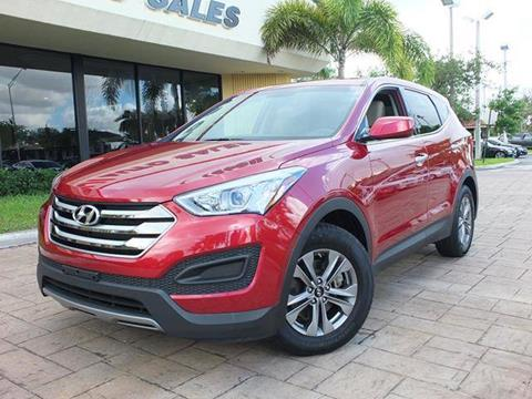 2016 Hyundai Santa Fe Sport for sale in West Park, FL