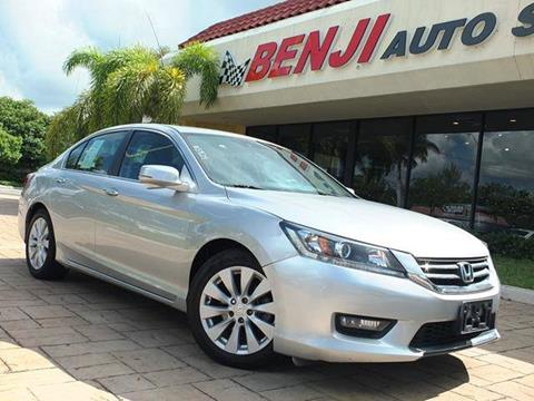 2014 Honda Accord for sale in West Park, FL