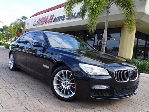 2015 BMW 7 Series For Sale In West Park FL