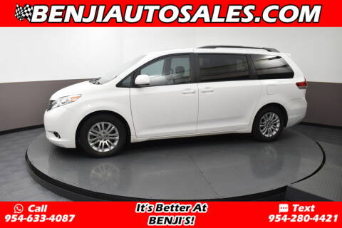 2013 Toyota Sienna for sale at Benji Auto Sales in West Park FL