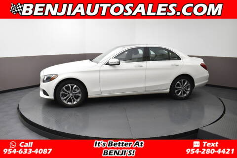 2016 Mercedes-Benz C-Class for sale at Benji Auto Sales in West Park FL